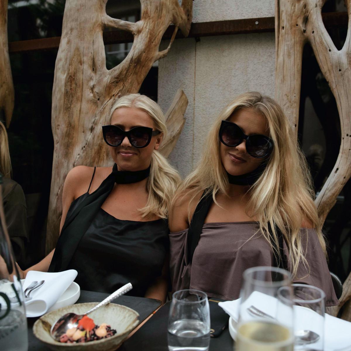 en mysig middag med min fina vän molly rustas som också bloggar